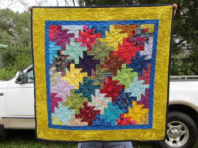 Jessica Duke, Tessellation, pattern by Gyleen Fitzgerald